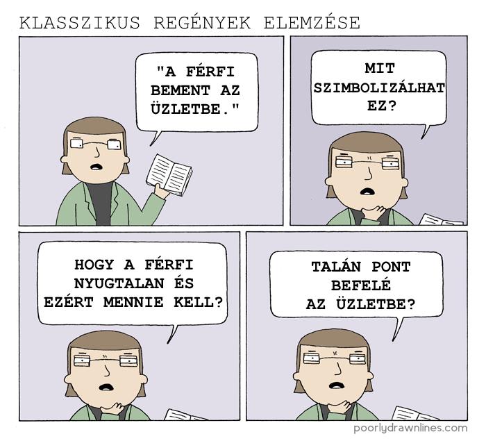 Klasszikus regények elemzése